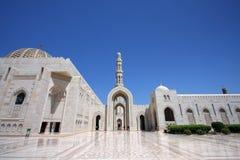 苏丹Qaboos全部清真寺 库存图片
