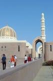 苏丹Qaboos清真寺阿曼 免版税库存图片