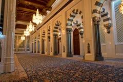 苏丹Qaboos清真寺 免版税图库摄影