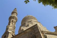 苏丹Qaytbay,开罗,埃及复合体  库存图片