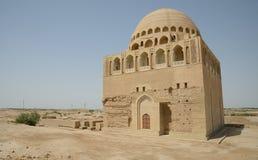 苏丹Sandjar清真寺,梅尔夫,土库曼斯坦 库存图片
