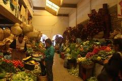 苏克雷市场bolÃvia 免版税库存图片