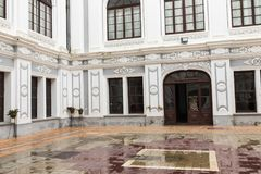 苏克雷, BOLIWIA - 2018年2月08日:苏克雷是宪法的 免版税图库摄影