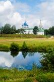 苏兹达尔东正教俄国城市 库存图片