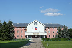 苏兹达尔市政厅  库存照片