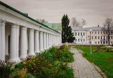 苏兹达尔老镇,俄罗斯风景  免版税库存图片