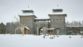 苏兹达尔,俄罗斯- 2016年11月5日:Shhurovo古老解决M 库存图片