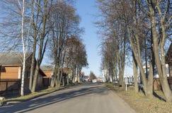 苏兹达尔,俄罗斯-06 11 2015年 老街道Pokrovskaya 俄罗斯旅行金黄圆环  免版税库存图片
