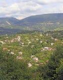 苏呼米都市风景-主要市阿布哈兹 免版税库存照片