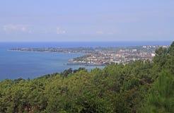 苏呼米都市风景-主要市阿布哈兹 免版税库存图片