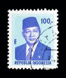 苏哈多, serie总统,大约1986年, 免版税库存照片