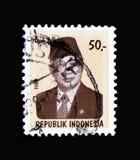 苏哈多, serie总统,大约1986年 免版税库存照片