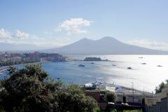 维苏威火山意大利 图库摄影