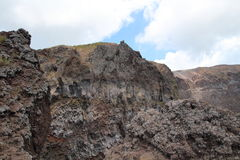 维苏威火山,意大利 免版税库存图片