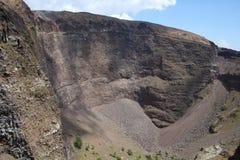 维苏威火山,意大利 免版税库存照片