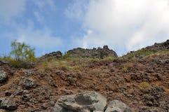 维苏威火山 免版税库存图片