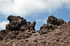 维苏威火山 库存照片