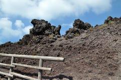 维苏威火山 免版税库存照片