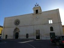 苏尔莫纳-圣玛丽亚della Tomba教会  库存照片