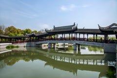 苏州市, Lu桥梁古镇  免版税库存图片
