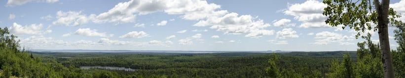 苏必利尔湖畔 免版税库存图片