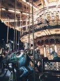 苏拉巴亚狂欢节夜在苏拉巴亚印度尼西亚 免版税库存图片