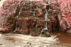 苏族河的秋天 库存图片
