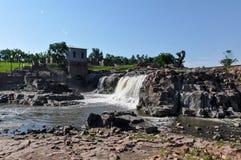 苏族瀑布,南达科他,美国 免版税图库摄影