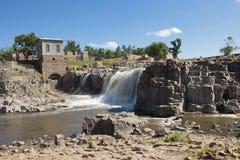 苏族瀑布,南达科他 库存照片