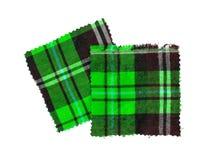苏格兰人被检查的织品 免版税图库摄影