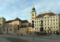 苏格兰修道院 奥地利维也纳 免版税图库摄影