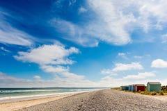 苏格兰夏天海滩 库存照片