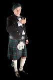 苏格兰多士威士忌酒 库存照片