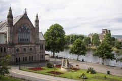 苏格兰大教堂 库存照片