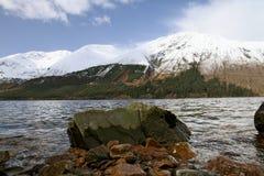 苏格兰奈斯湖 免版税库存照片