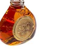 苏格兰威士忌酒瓶酒精 免版税库存图片