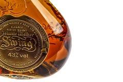 苏格兰威士忌酒瓶酒精 图库摄影