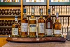 苏格兰威士忌酒 库存照片
