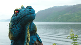 苏格兰尼斯湖怪物 库存照片