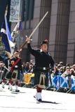 苏格兰战士 免版税库存照片