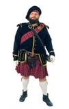 苏格兰战士 库存图片