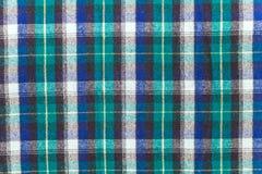 苏格兰方格的格子花呢披肩 免版税库存图片
