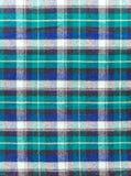 苏格兰方格的织品 库存图片