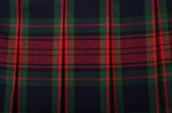 苏格兰格子呢样式 库存图片