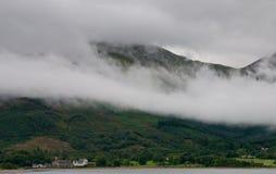 苏格兰横向,苏格兰高地 免版税库存照片