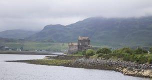 苏格兰沿海庄园 免版税库存图片
