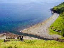 苏格兰海岸线自然 库存照片