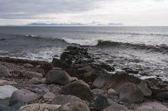 苏格兰海景 库存图片