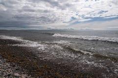 苏格兰海景 免版税库存图片