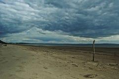 苏格兰海滩 免版税库存照片